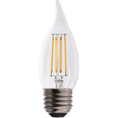 IllumiSci-CA11 Chandelier and Candelabra (Flame Tip) LED Filament Bulbs